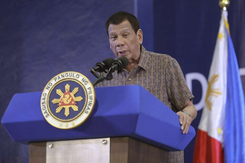 菲律賓總統杜特蒂(AP)