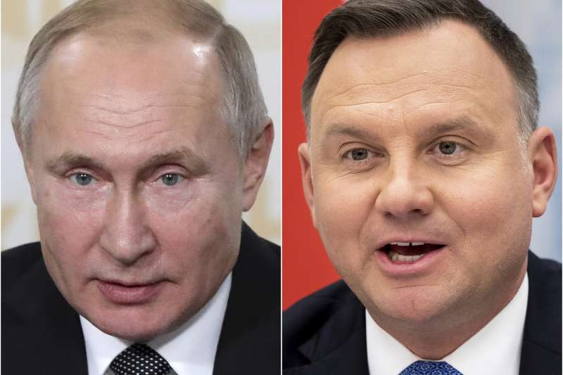 奧斯威辛集中營解放75周年:波蘭總統杜達與俄羅斯總統普京互相指責(AP)