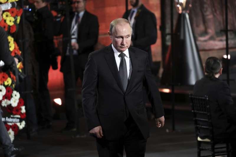 奧斯威辛集中營解放75周年:俄羅斯總統普京出席以色列猶太大屠殺紀念館活動(AP)