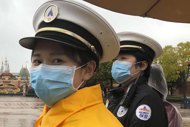 中國武漢肺炎疫情擴大,上海市全力戒備(AP)