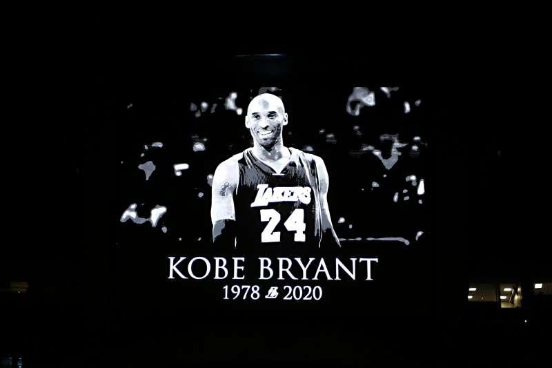 NBA傳奇球星布萊恩因飛機失事驟逝,獨行俠球團為了致敬他的傳奇生涯,將退休布萊恩所穿的24號球衣。(美聯社)