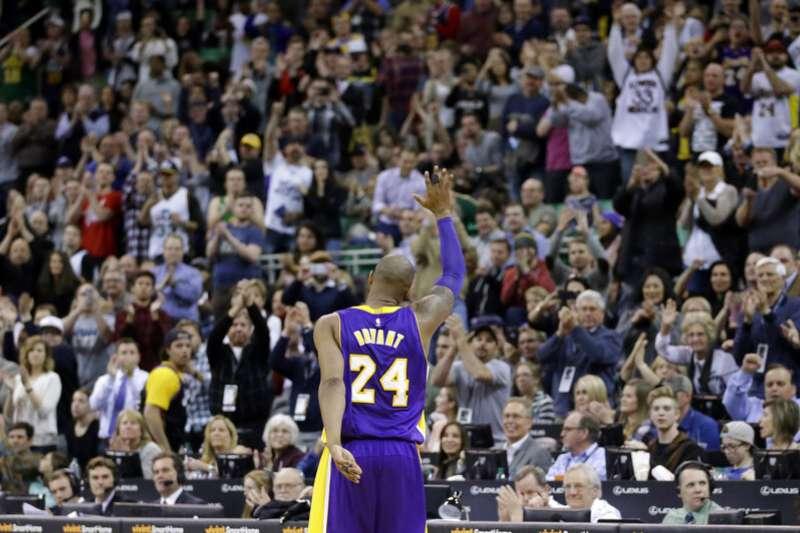 美國職籃(NBA)退役超級巨星「小飛俠」柯比.布萊恩。(美聯社)