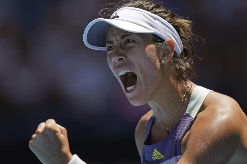 蒙奎露薩力克奪冠熱門選手哈勒普,生涯首度闖進澳網女單決賽。(美聯社)