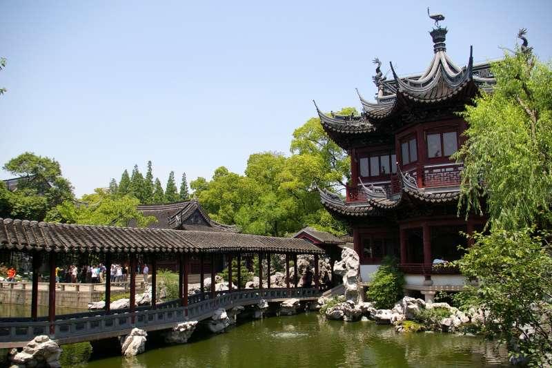上海豫園(Jakub Hałun@Wikipedia / CC BY-SA 4.0)