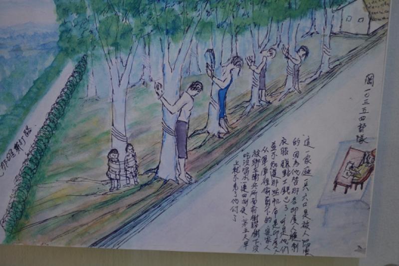 日軍佔領星馬地區後,曾經在馬來人配合下對華人實施肅清大屠殺,後來馬來亞人民抗日軍也針對馬來平民展開復仇。(作者提供)