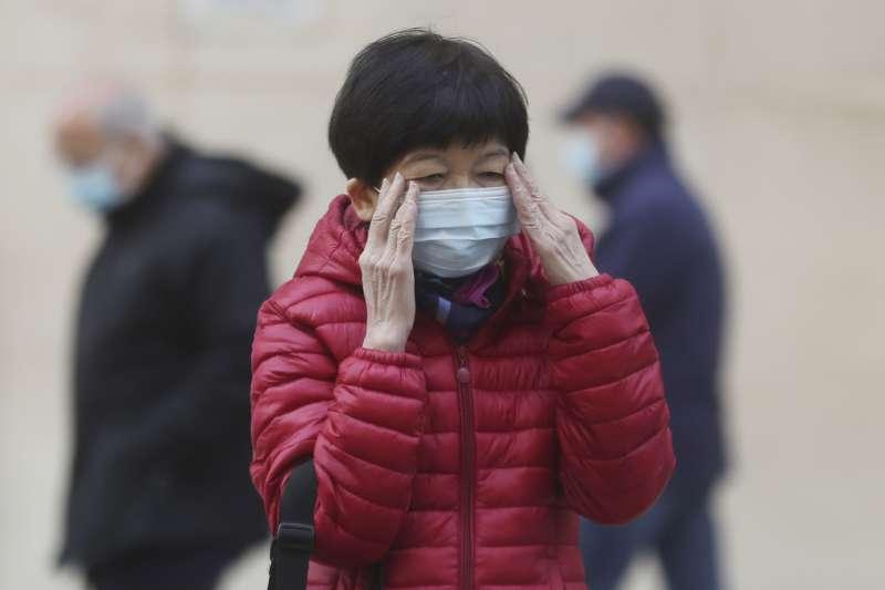 2020年中國武漢肺炎疫情風暴,香港如臨大敵(AP)