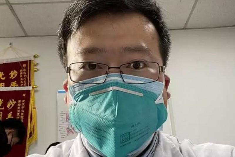 武漢醫生李文亮(取自網路)