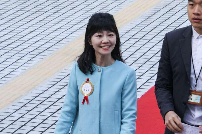 20200201-新任立委高嘉瑜出席109年立委就職。(蔡親傑攝)
