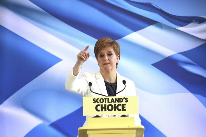 英國脫歐:蘇格蘭要再辦獨立公投,首席大臣史特金呼籲支持者要有耐心(AP)