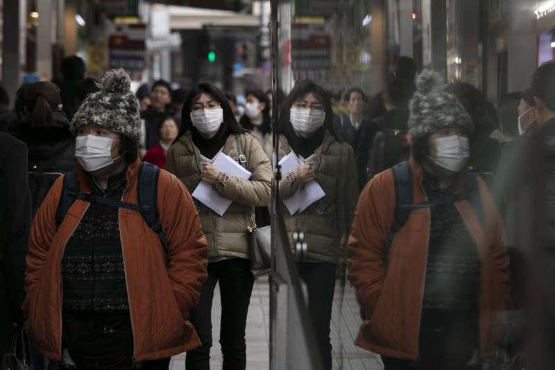 2020年初,中國武漢肺炎疫情入侵日本,至2月1日已出現20名確診病例(AP)
