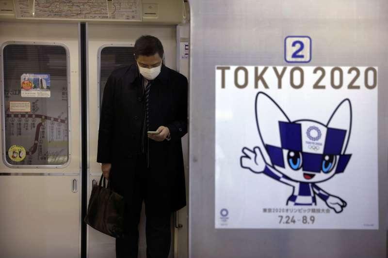 2020年初,中國武漢肺炎疫情入侵日本(AP)