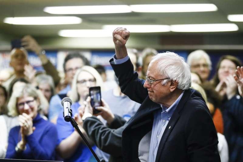 2020美國總統大選:愛荷華州初選登場,立場偏左的桑德斯爭取民主黨提名(AP)
