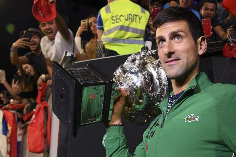 喬科維奇生涯大滿貫賽冠軍迅速來到了17次。(美聯社)