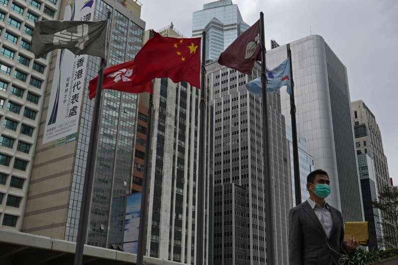 中國武漢肺炎疫情持續蔓延,香港如臨大敵(AP)