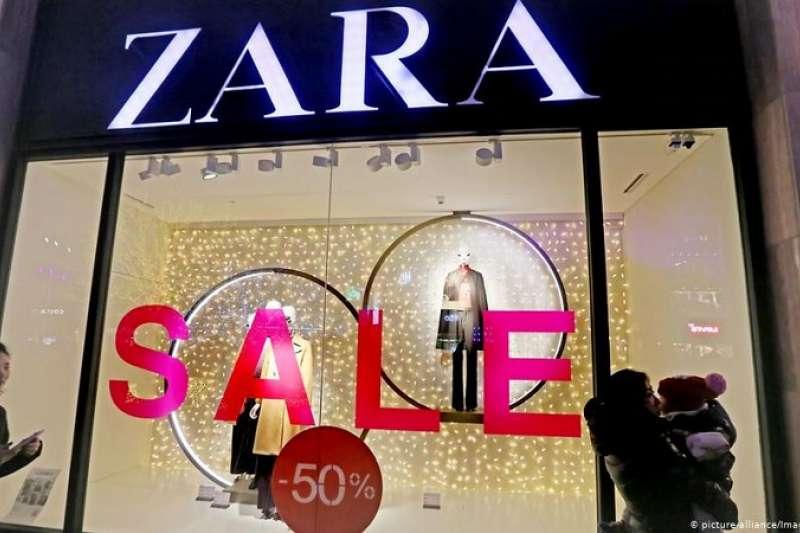 氣候保護人士抨擊西班牙企業Zara成功完美化了「穿完即丟的時裝業」。跡象顯示,消費者對快時尚的評價也發生了變化。(圖/德國之聲)