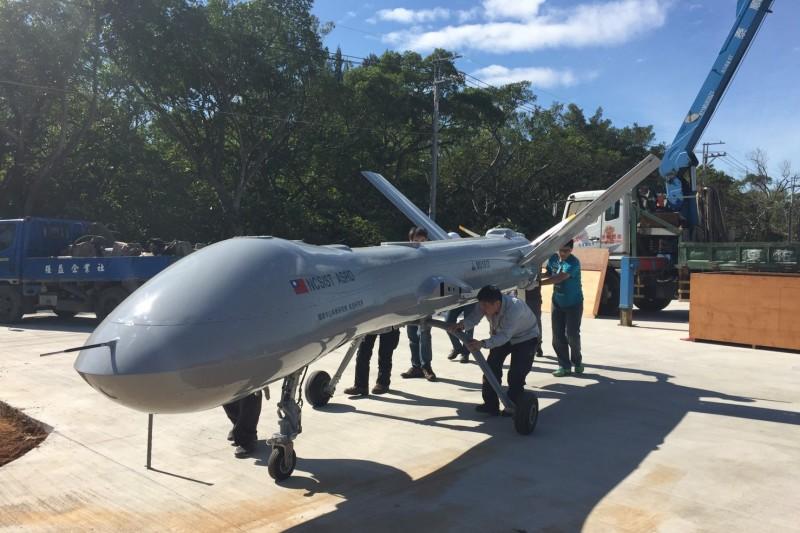 台灣燈會陳展的騰雲無人機,如今面臨來自美國的挑戰。(取自2020台灣燈會網站)