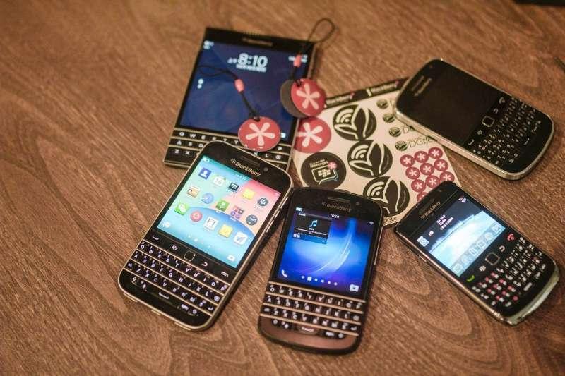 BlackBerry Mobile宣布將在八月停產,傳統手機的時代結束了。(圖/ pixabay)