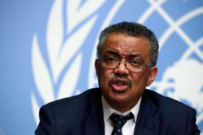 武漢肺炎大爆發後,衣索比亞籍的世界衛生組織總幹事譚德塞(Tedros Adhanom)曝光率大增。(圖/*cup提供)