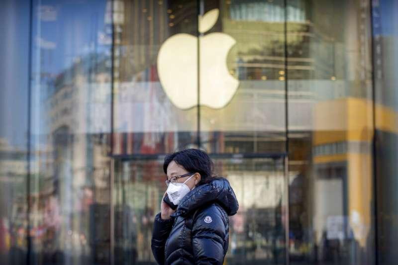 蘋果供應鏈的復工狀況並不如預期,該公司近期表示無法達到第一季收入目標。(美聯社)