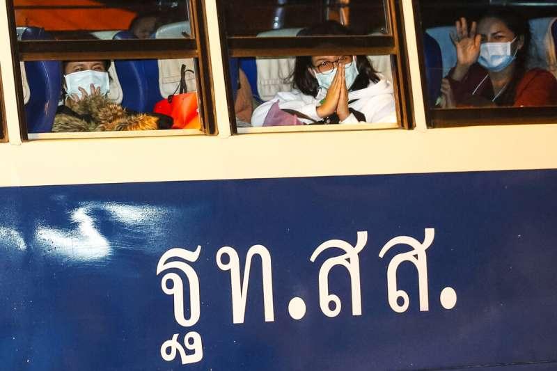 泰國政府派出專機將138位滯留武漢的僑民接回。(資料照,美聯社)