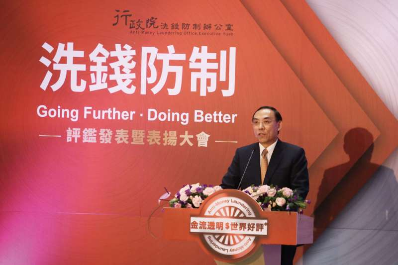 蔡清祥對司法外交的未來充滿期待。(柯承惠攝)