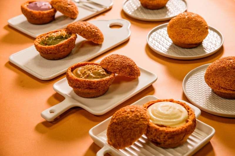 品好乳酪泡芙內餡以北海道乳酪製成,成為網友大推的必吃甜點(圖片來源:品好乳酪).jpg