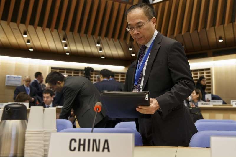 網傳WHO中國代表日前發言「收割台灣快篩成果」,台灣事實查核中心10日發布查核報告,表示此網路消息是假的。(資料照,美聯社)