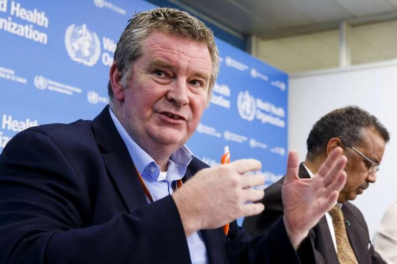 世界衛生組織(WHO)緊急事件執行主任萊恩(AP)