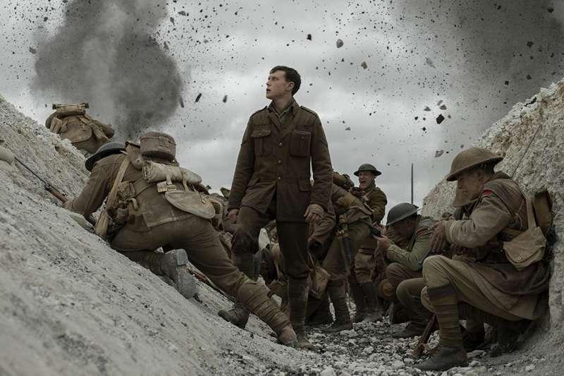 《1917》勇奪2020奧斯卡最佳音效、最佳視覺特效、最佳攝影三大獎。(圖/imdb)