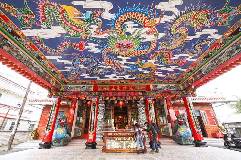 鐤橄社福安宮有近136年歷史,附近更有不少好吃好玩的景點。(圖/五結鄉公所提供)