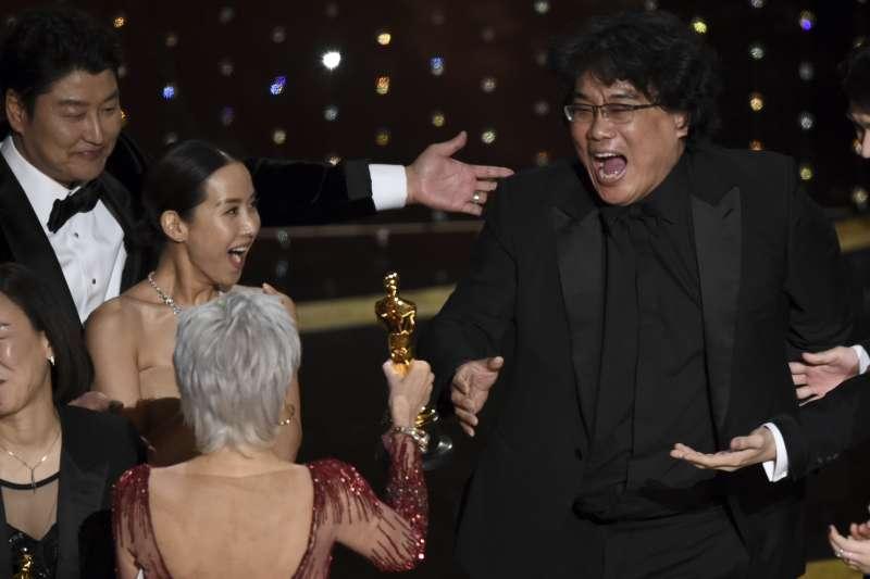 第92屆奧斯卡獎最佳影片:南韓電影《寄生上流》(AP)