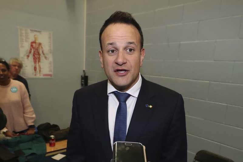 愛爾蘭總理瓦拉德卡。(AP)