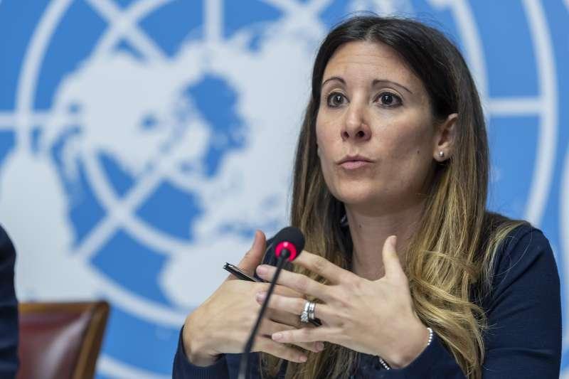武漢肺炎:世界衛生組織(WHO)新型疾病小組負責人范科霍芙(Maria Van Kerkhove)(AP)