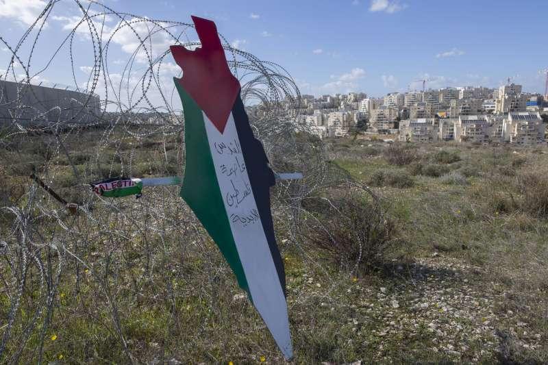 巴勒斯坦強烈反對美國總統川普提出的中東和平計畫(AP)