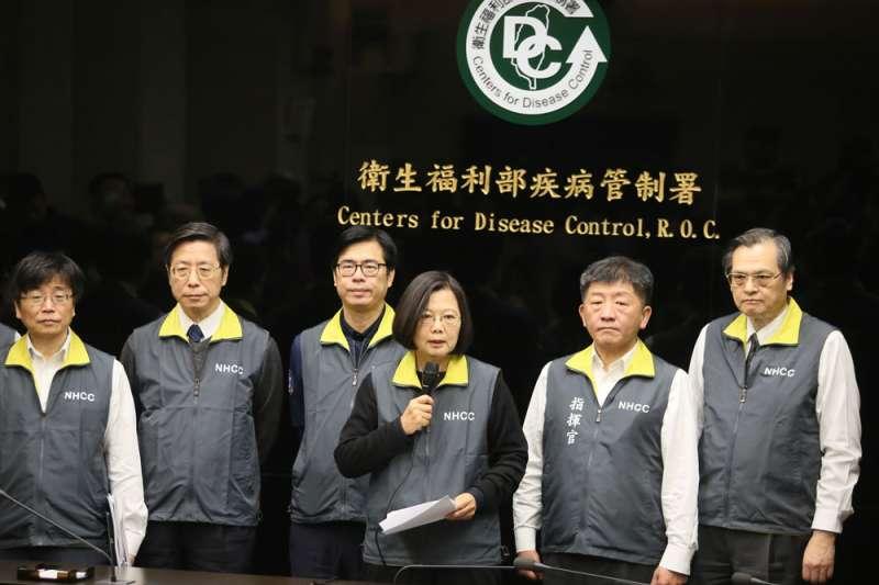 武漢疫情打亂中國發展進程,而台灣若能在強敵的失誤中站穩步伐,不失為轉機。(柯承惠攝)