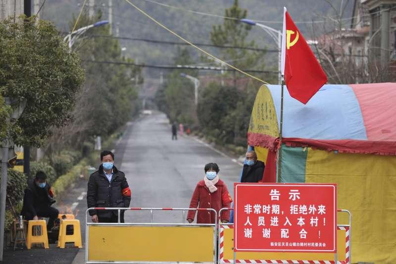 武漢肺炎疫情持續擴散,浙江省省會杭州實行嚴格「封閉式管理」(AP)
