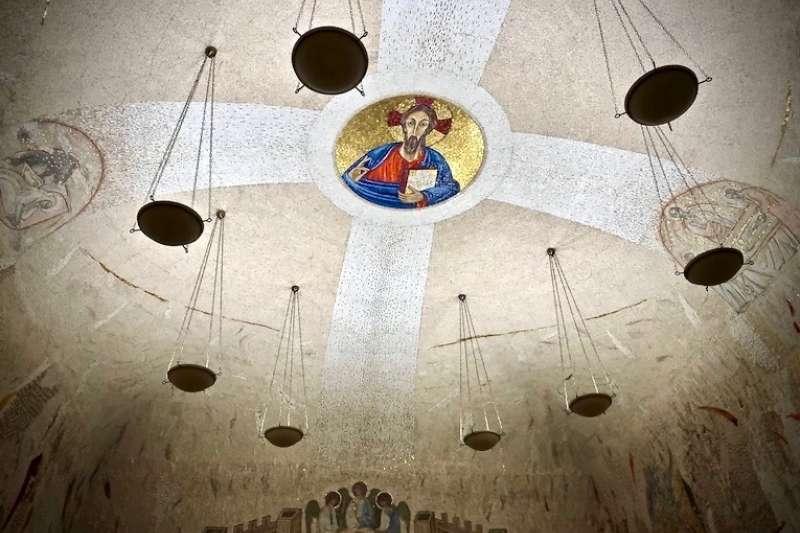 梵蒂岡使徒宮的救主之母祈禱小堂(曾廣儀攝)
