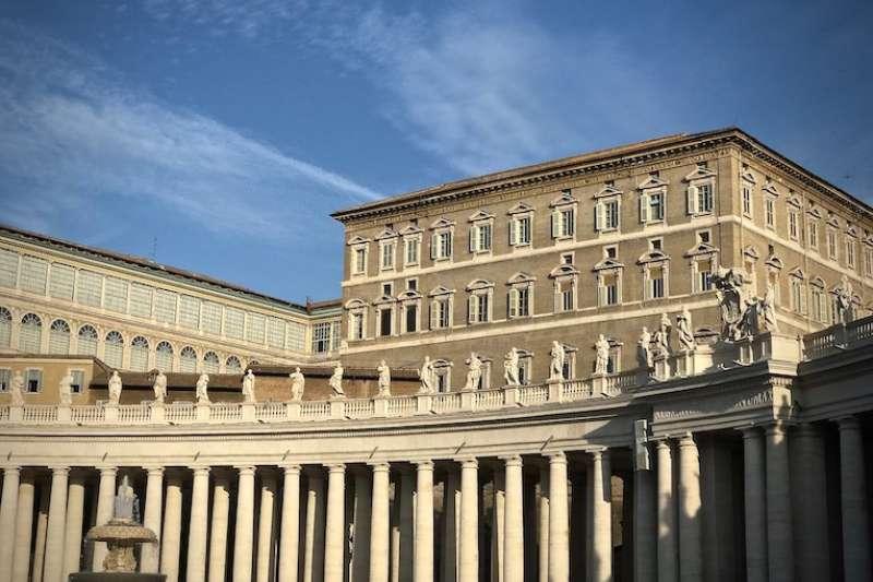 梵蒂岡使徒宮(曾廣儀攝)