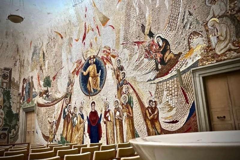 宗教使藝術活化,更與藝術融為一體(曾廣儀攝)