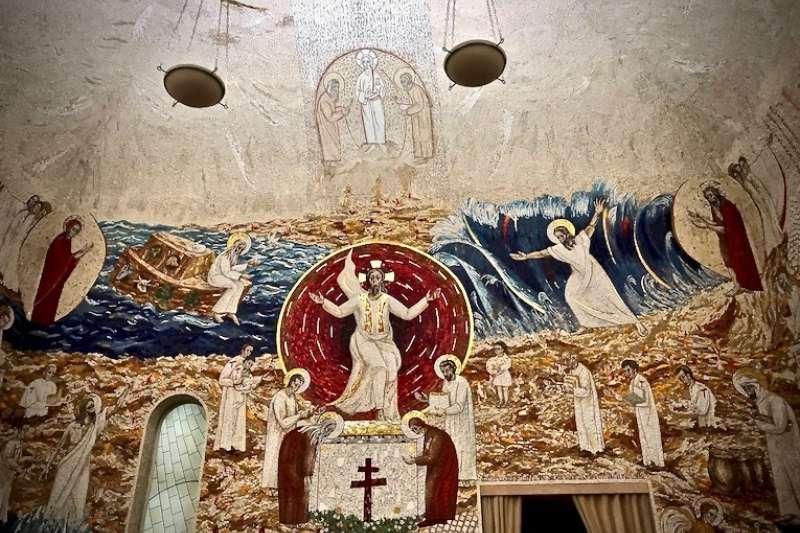 魯普尼克神父的《在世界末日時將再降臨於世》 (曾廣儀攝)