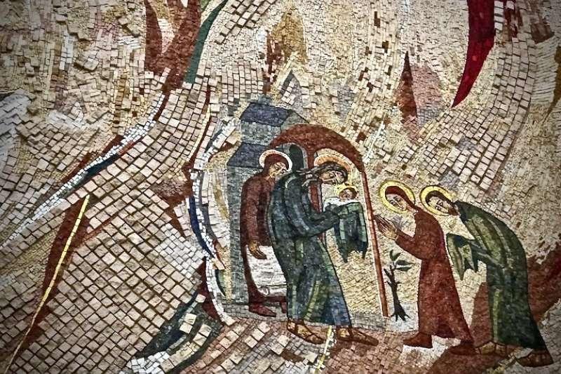 梵蒂岡「救主之母祈禱小堂」圖集(曾廣儀攝)