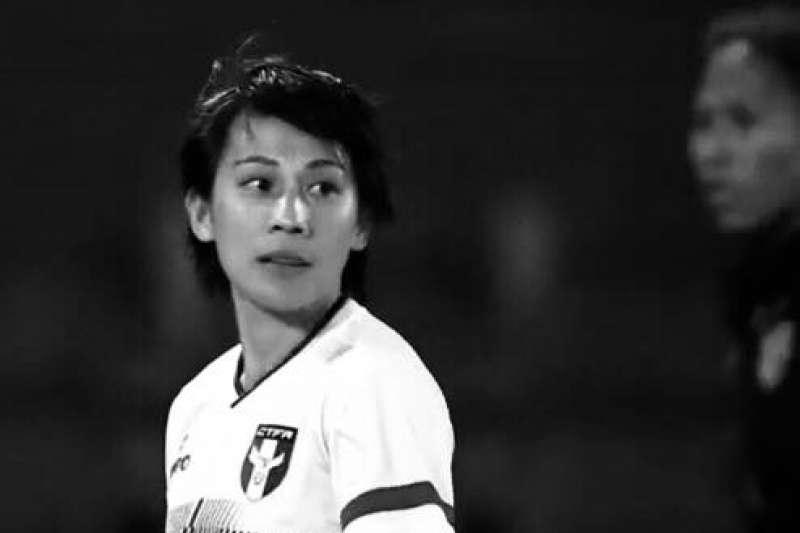 中華女足老將曾淑娥在臉書砲轟日籍教練。(取自曾淑娥粉絲頁)