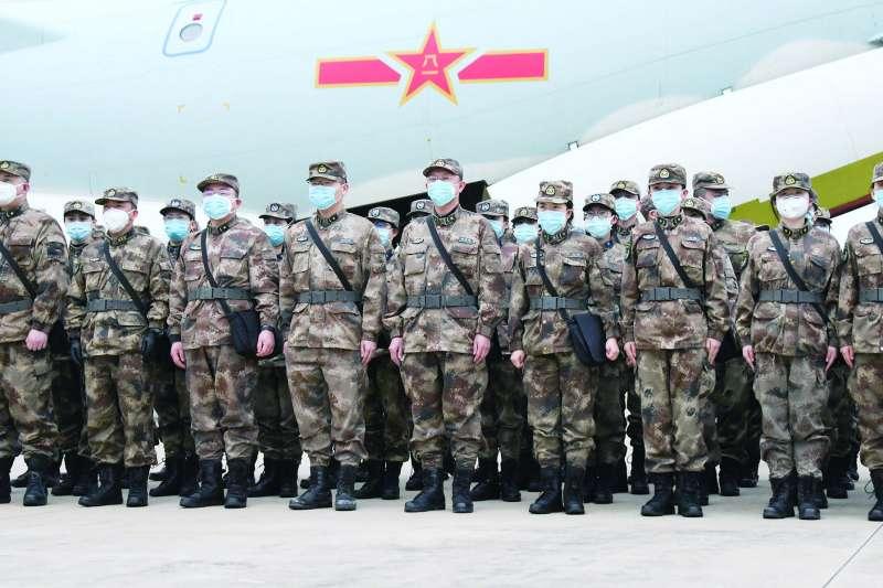 從此次共軍防疫行動,可看出其應變能力。(翻攝自China Xinhua News Twitter)