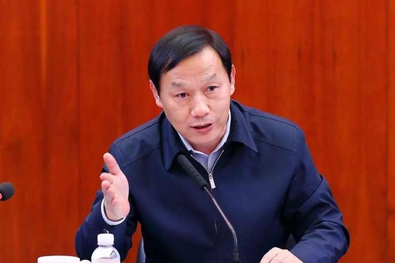 前任武漢市委書記馬國強(取自網路)