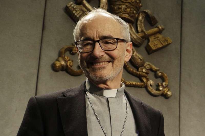 天主教教宗方濟各顧問、加拿大籍樞機主教徹爾尼(Michael Czerny)(AP)