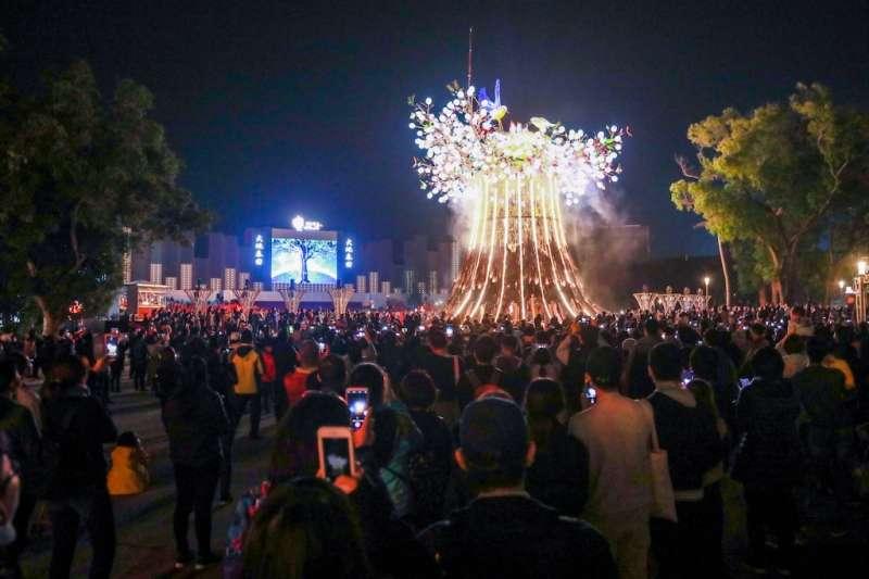 台中市府結合電信大數據科技,掌握台灣燈會參觀人車流量。(圖/台中市政府提供)