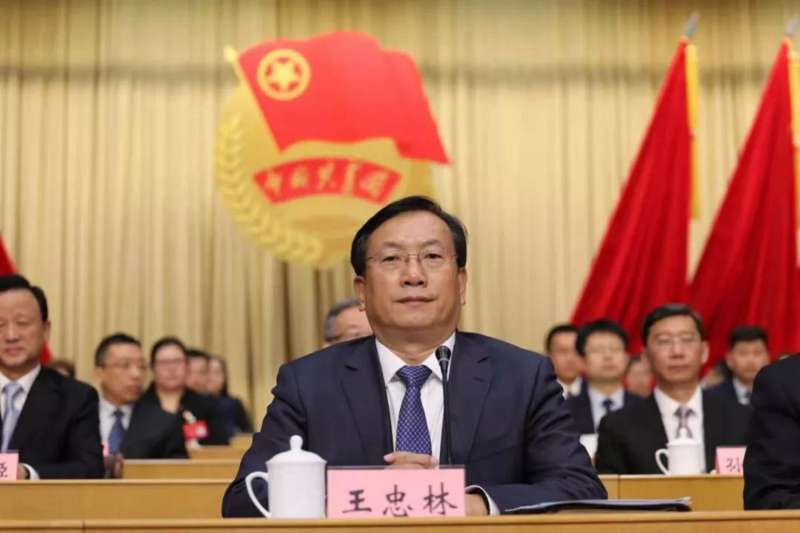 新任武漢市委書記王忠林(取自網路)