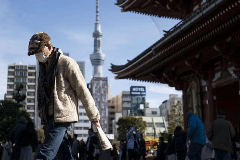 2 月 2 日的東京淺草區。(圖片來源:Tomohiro Ohsumi/Getty Images│*CUP提供)
