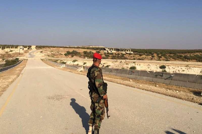 敘利亞內戰邁入第九年,總統阿塞德逐漸奪回全國控制權,2月第三週拿下最重要的M5公路。(AP)