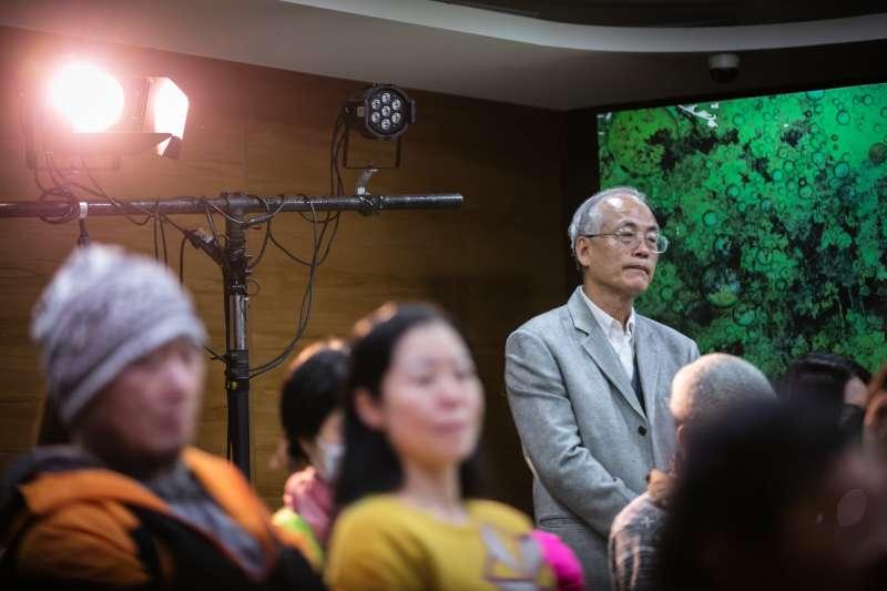 台北市政府社會局黃清高副局長全程觀賞並感動不已。(作者提供,張瑞宗攝影)